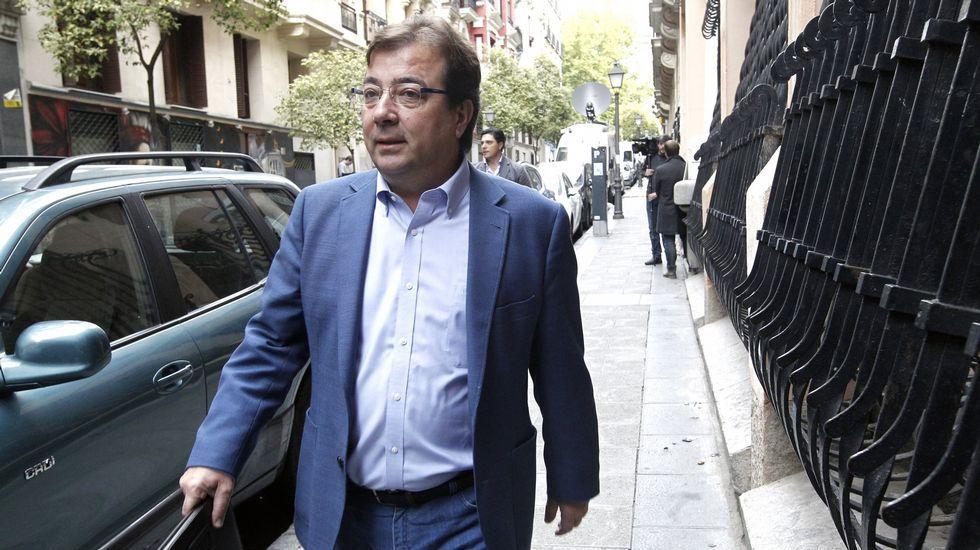 Pablo Crespo: «Hubo rumores de que la operación Gürtel la orquestó Rubalcaba».Guillermo Fernández Vara, en una imagen del pasado octubre