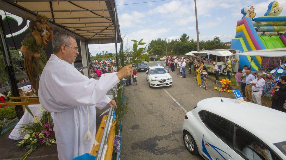 La procesión de San Cristovo de Carballo, ¡en imágenes!