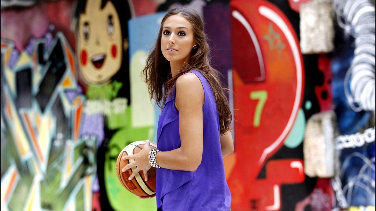 Tamara Abalde. Preconvocada con la selección femenina de baloncesto para el Mundial, se cayó a última hora.