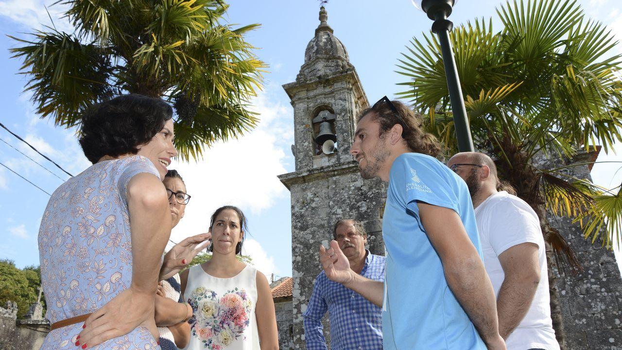 La vicepresidenta del Gobierno en funciones, Carmen Calvo, el pasado sábado en la feria de Málaga