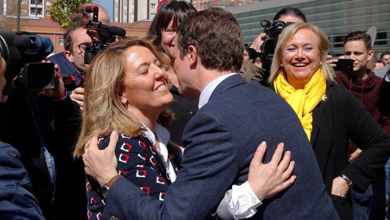 La campaña de Casado en Asturias.Ignacio Prendes