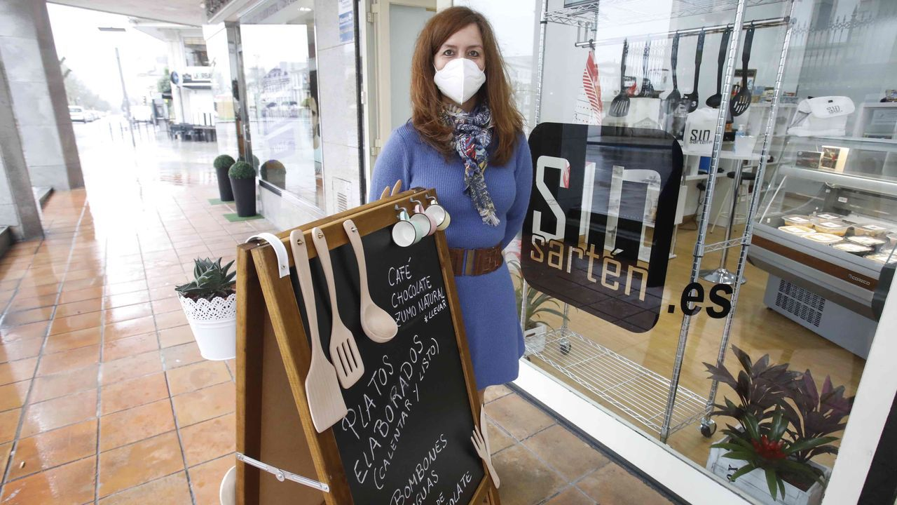 Mercedes García Feijoó de Sotomayor subraya que su comida aguanta perfectamente hasta 15 días