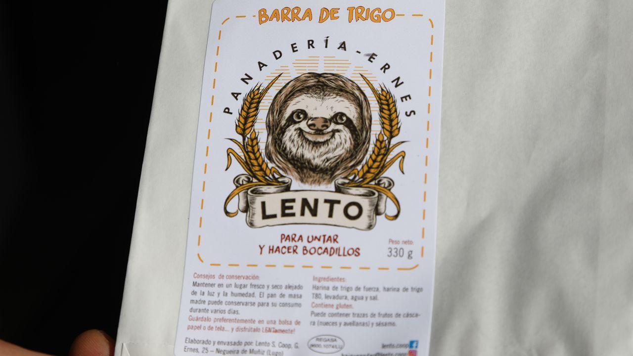 El original logotipo de Lento
