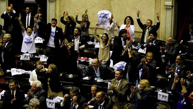 Argentina aprueba la expropiación