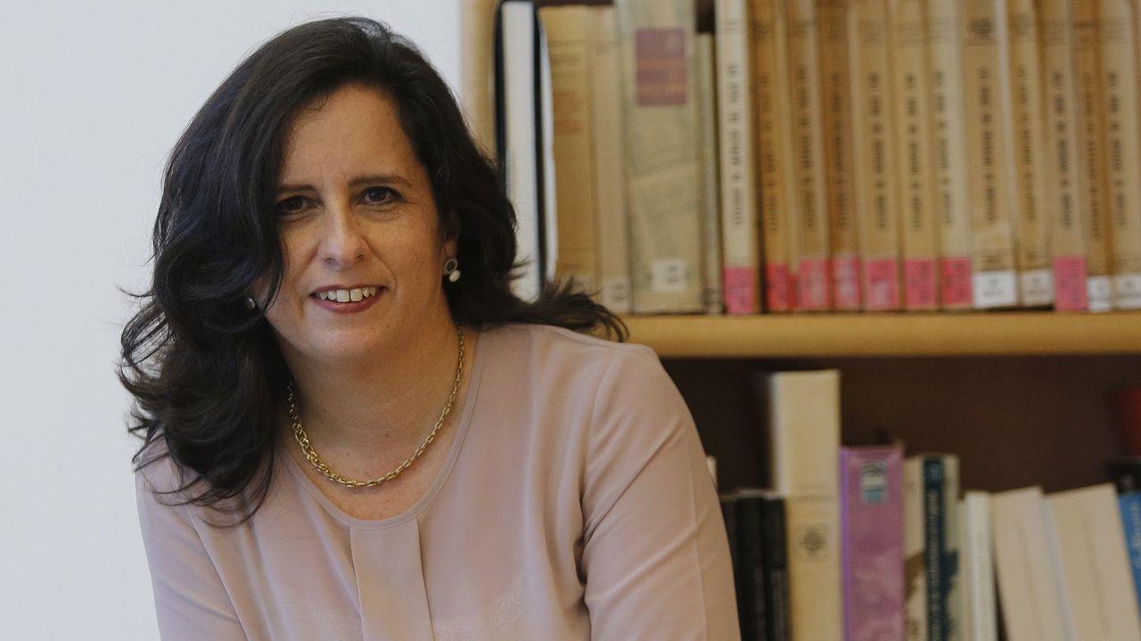 Nancy Vázquez, vicerreitora de Planificación Académica da UDC