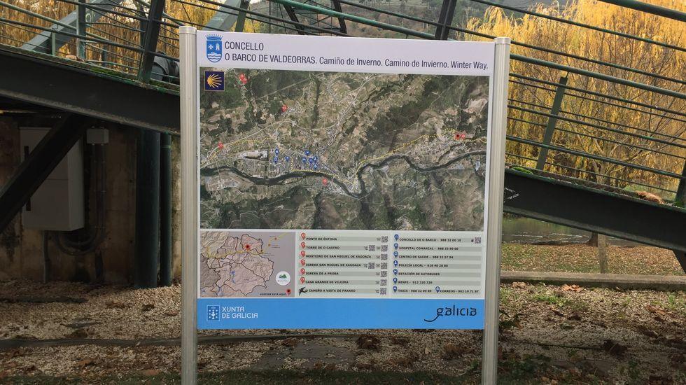 El Camiño de Inverno es uno de los potenciales turísticos de Valdeorras