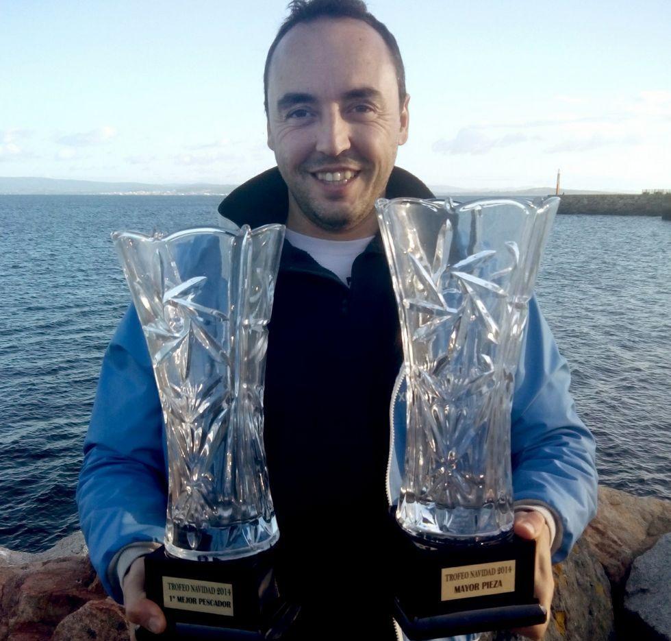 Mareque ha conseguido en estos años varios trofeos