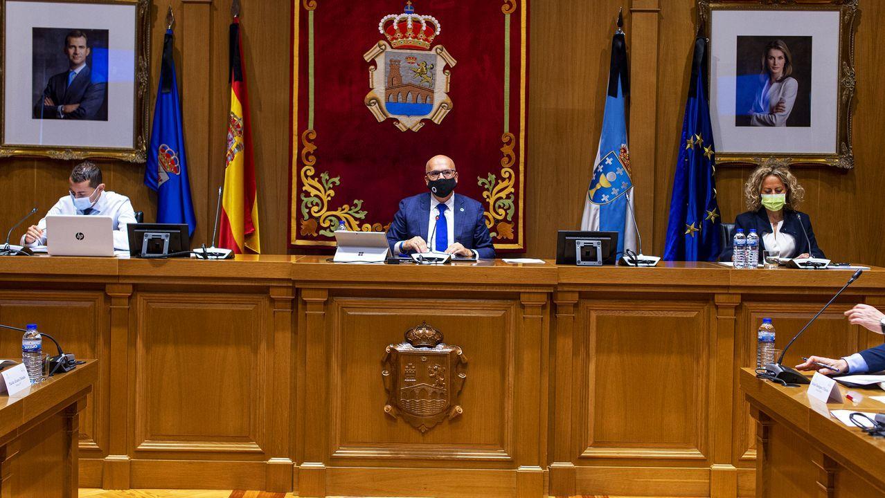 El pleno se celebró sin la presencia de medios por las nuevas restricciones del covid-19
