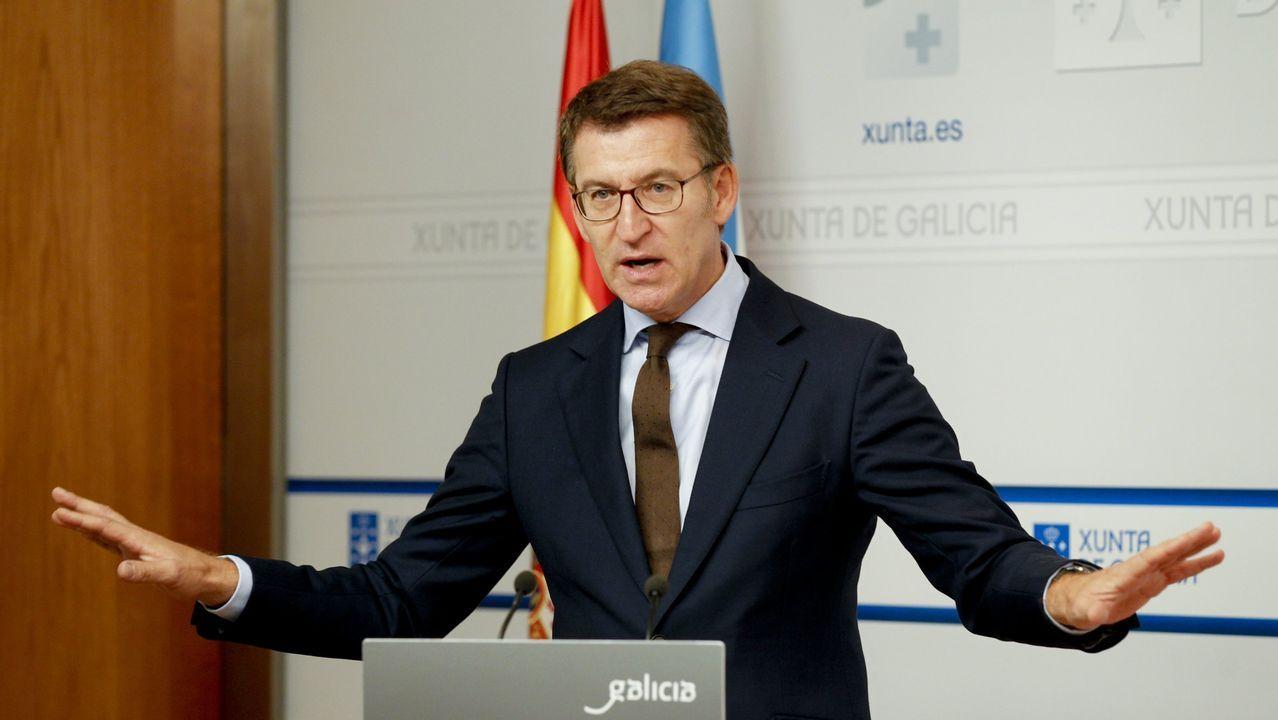 Núñez Feijóo asegura que el PP permitiría gobernar a Sánchez si rompe con UP y rechaza a ERC.Carlota Prado en su paso por Gran Hermano