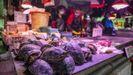 El mercado de Xihua, en Cantón (China)