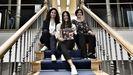 Eva González, Patricia Fernández y Ana Lorenzo, con su libro <Grafismos creativos>