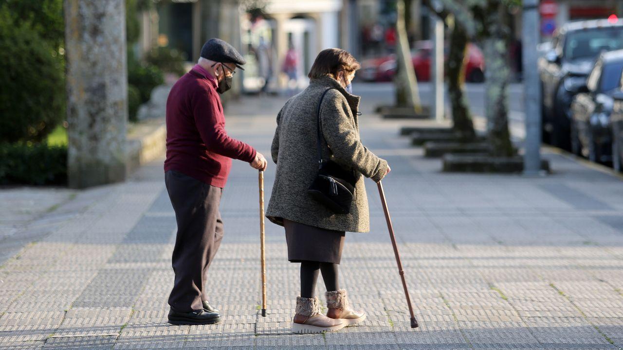 La brecha demográfica crece en Barbanza: ya hay un jubilado por cada trabajador.Fachada de la sede del Tribunal Supremo en Madrid