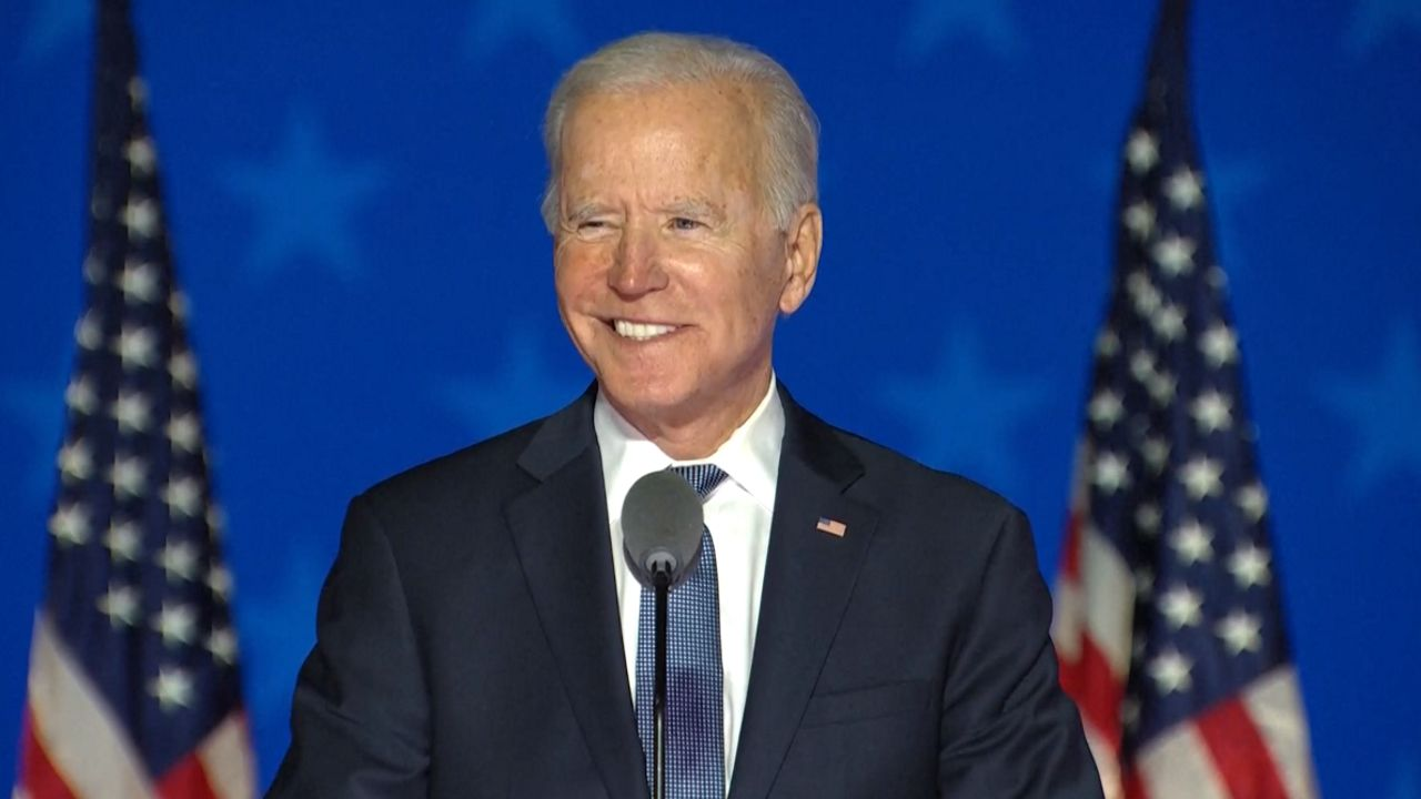 El mensaje de Biden a sus partidarios: «Vamos a ganar».Martín pescador
