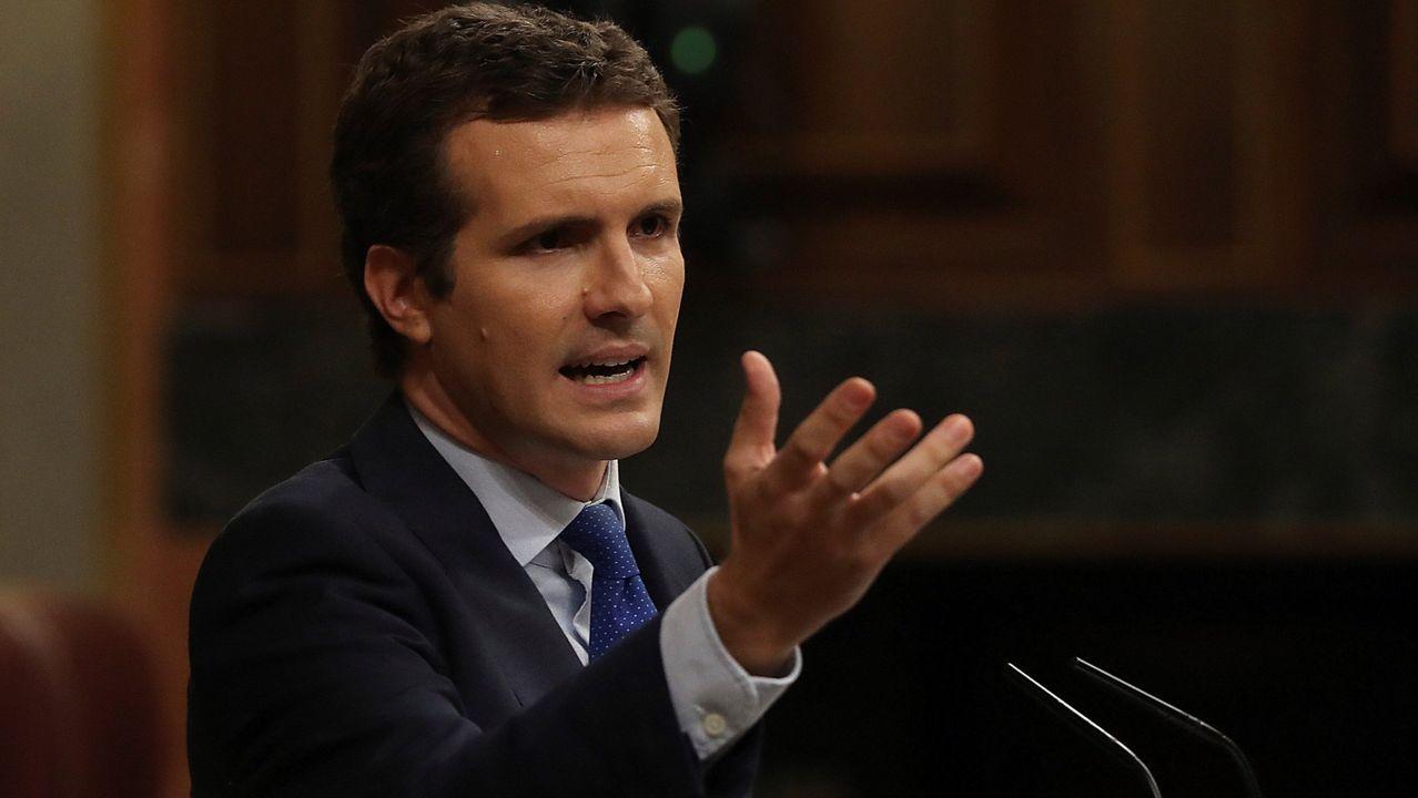 Leonor: «Llevo a Cataluña en el corazón».Pablo Casado está siendo presionado para que tanto el PP como el PSOE recuperen la centralidad, como dijo Aznar