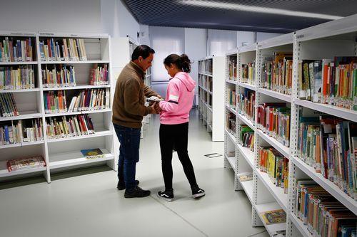 Biblioteca Pública de Ourense.Todos las secciones han ganado en espacio y servicios