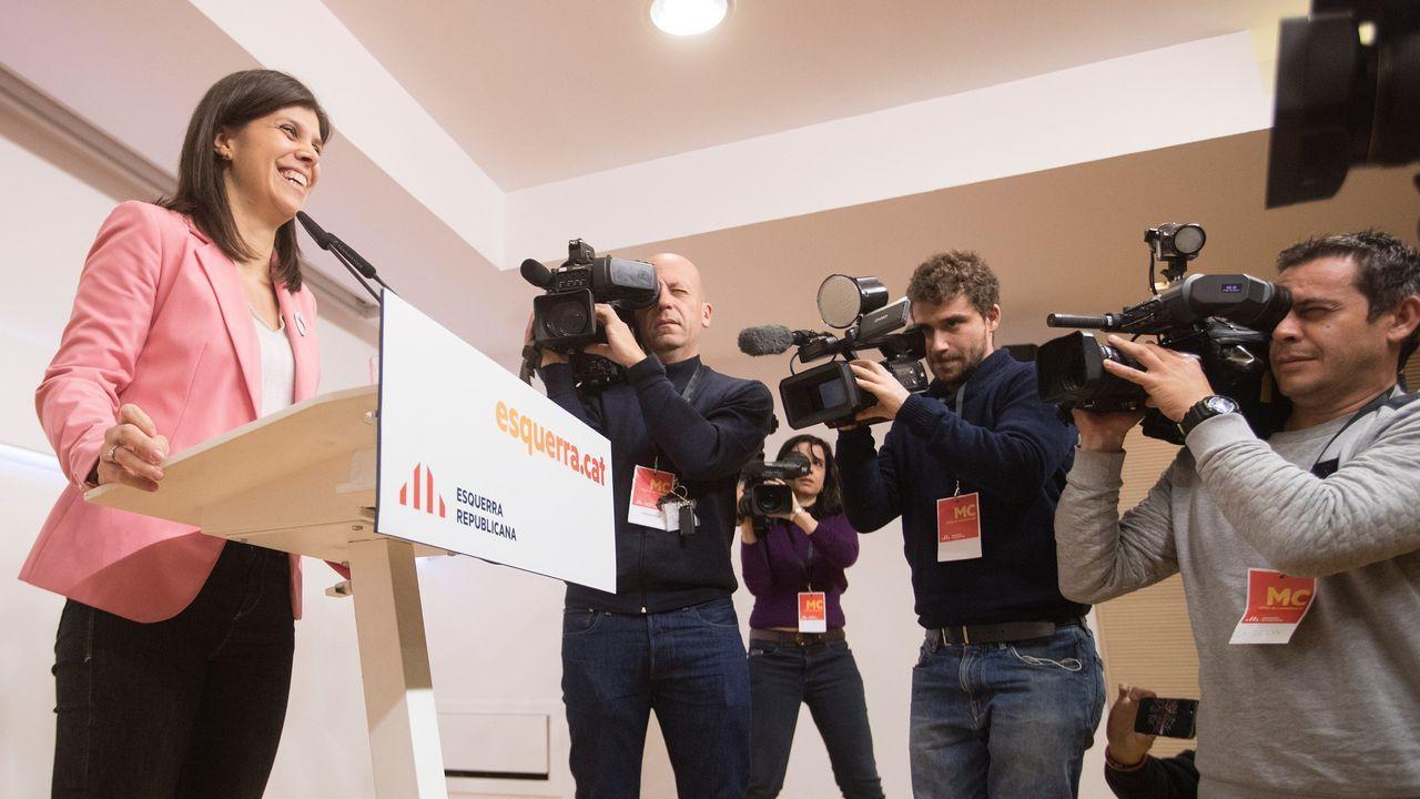 La portavoz de ERC, Marta Vilalta, frenó ayer las expectativas de Pedro Sánchez de ser investido durante este mes de diciembre