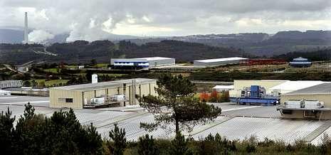 Imagen de archivo de la empresa Cándido Hermida, en sus instalaciones de Río do Pozo