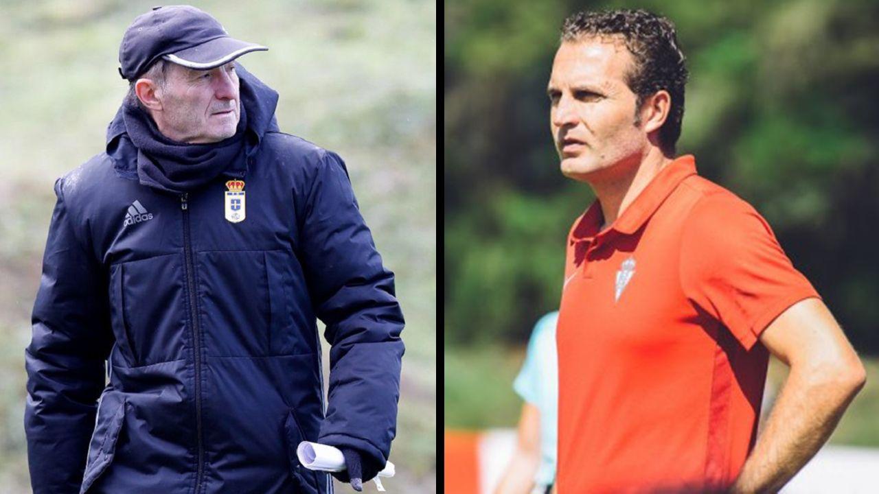 Alfonso Herrero Folch Cotugno Real Oviedo Huesca Carlos Tartiere.Anquela y Baraja