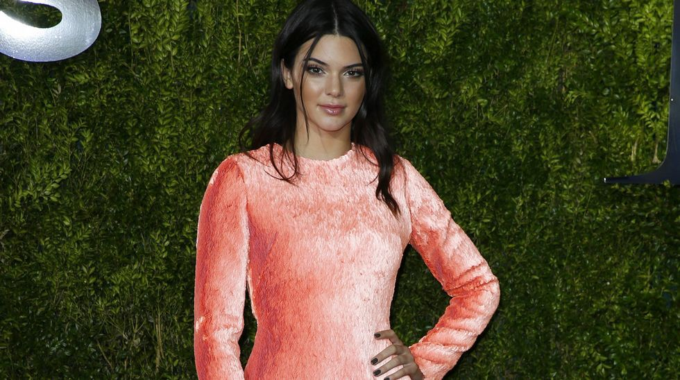 La modelo Kendall Jenner, hermana de Kim Kardashian.