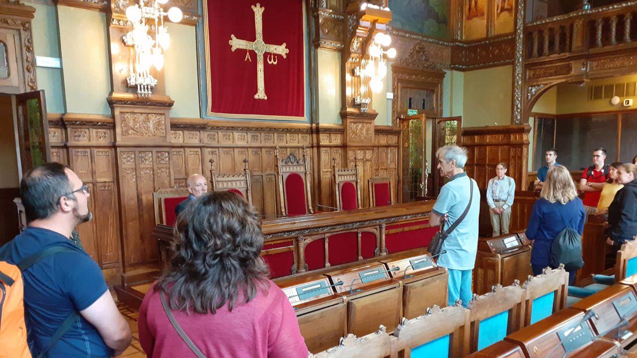 Visitas guiadas al parlamento asturiano