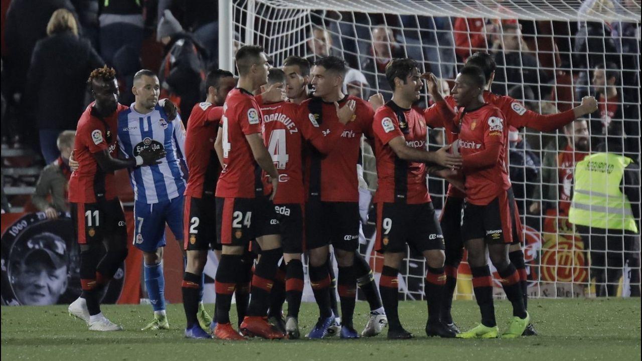 Las fotos del Deportivo - Mallorca.El Mallorca derrotó al Deportivo en la primera vuelta por 1-0