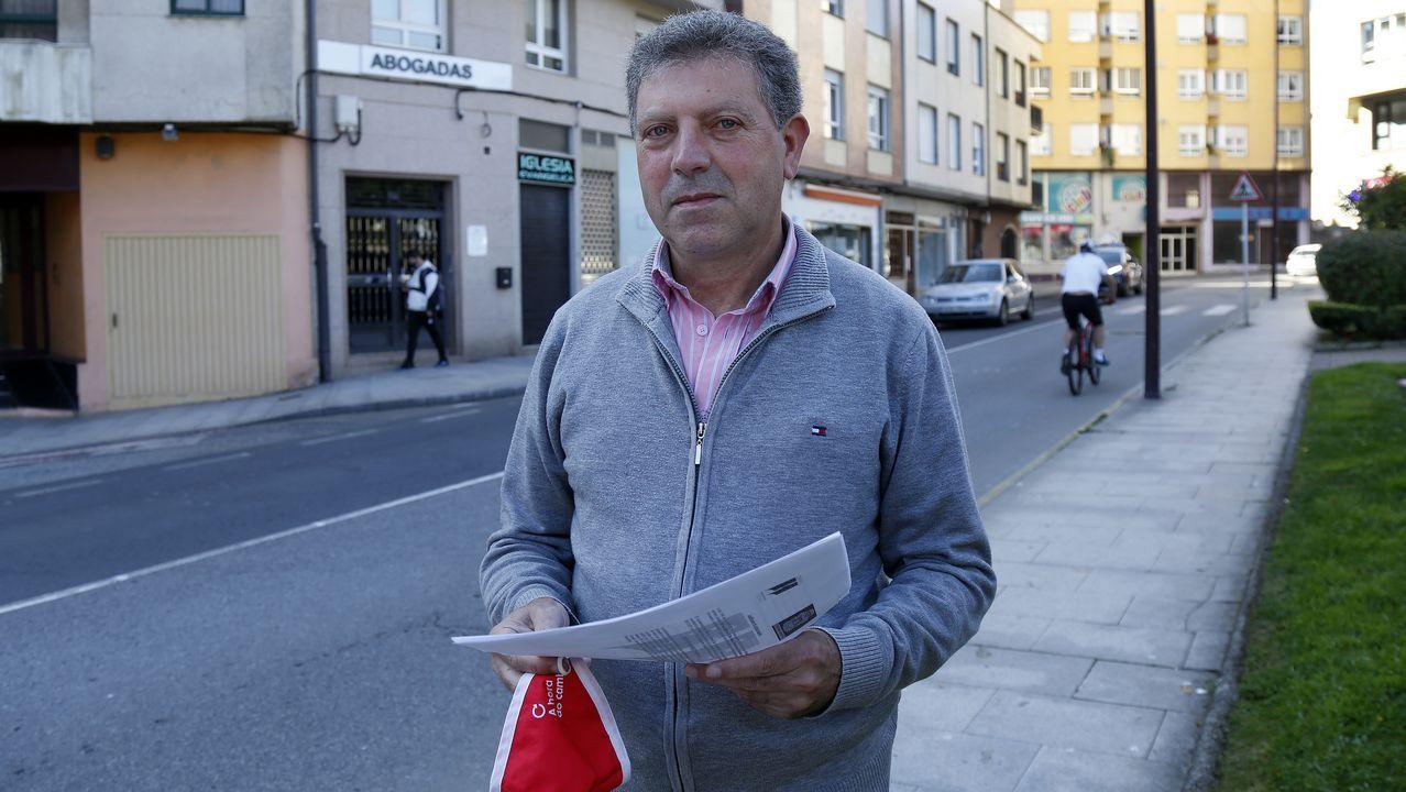 Las mejores imágenes del Memorial Manolo Dieste, carrera que recorrió las calles de Ribeira.Xosé Vilas, PSOE