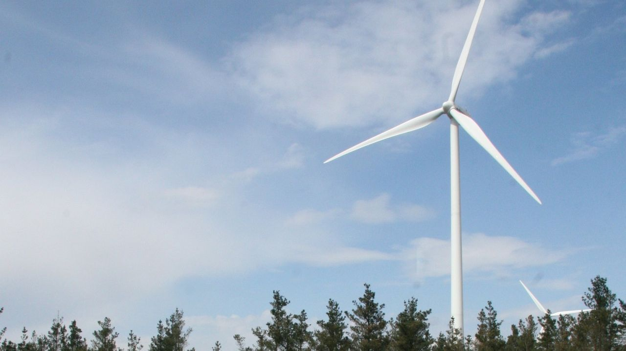 Parque eólico de Cordal de Montouto, en Aranga
