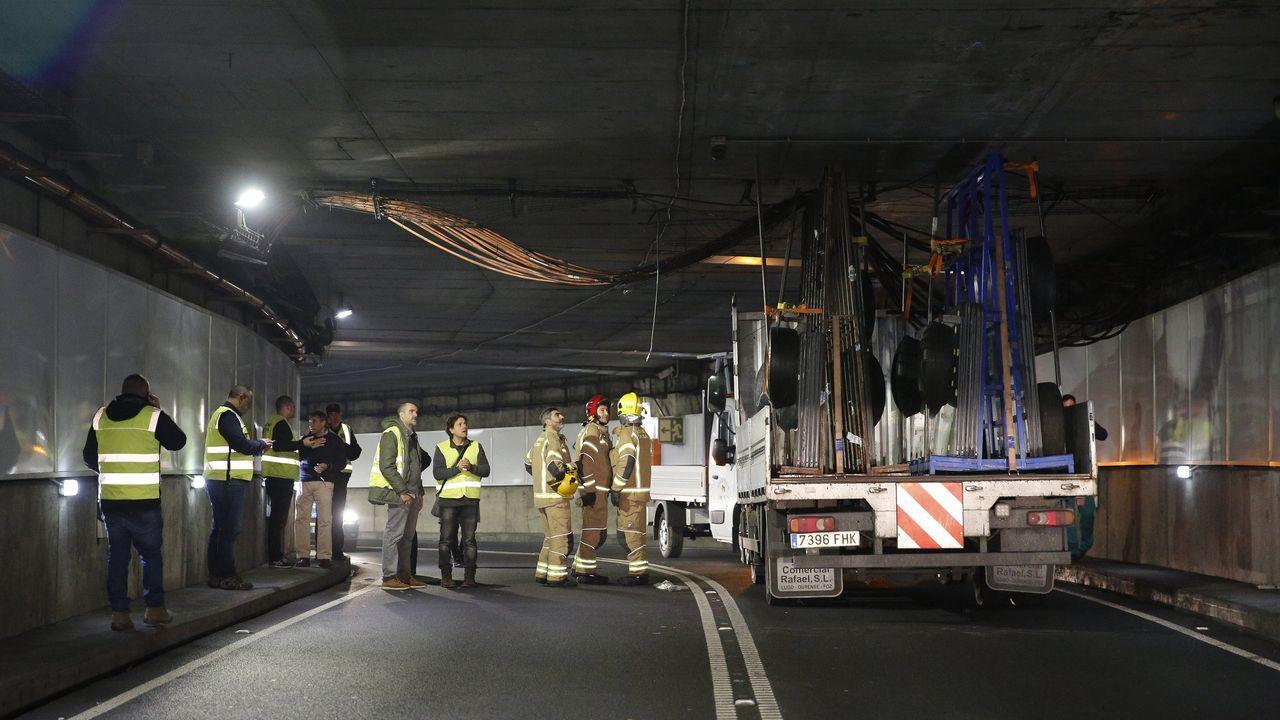 Imagen de archivo de otro accidente que causó daños en el túnel