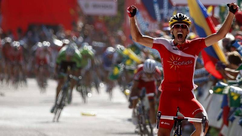 Froome ya fue el gran rival de los españoles en el 2012.
