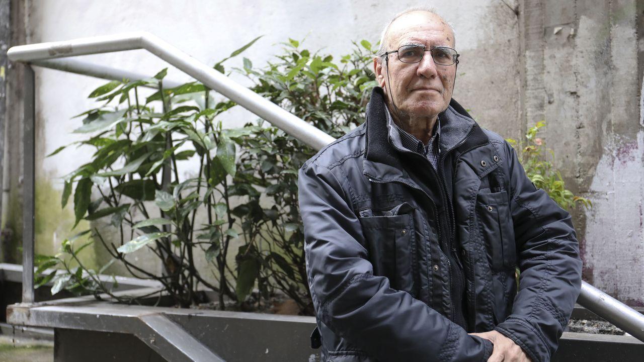 Venâncio lanza nestes días o seu último libro na Coruña, Vigo e Santiago
