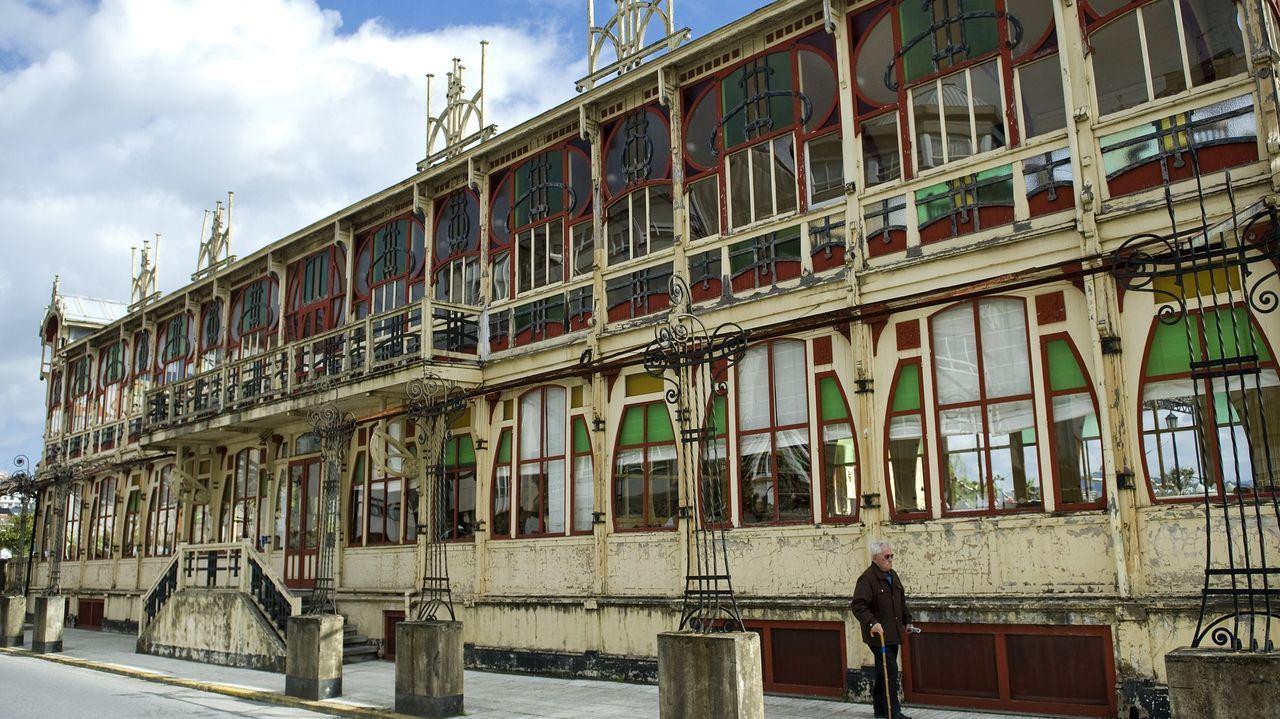 Imagen de archivo del edificio de La Terraza, que el Concello pide que pase a ser patrimonio municipal