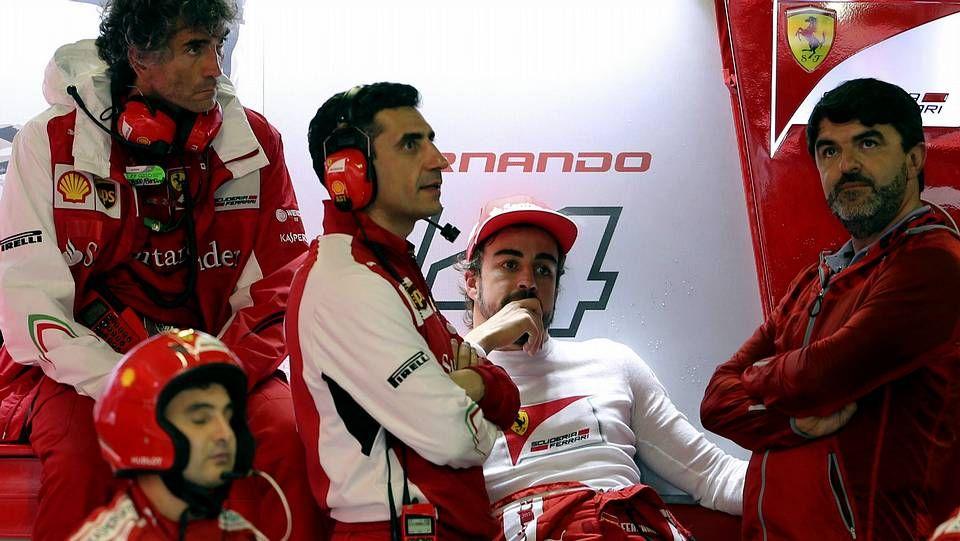 El GP de Rusia, en imágenes.Los padres de Bianchi, en el hospital