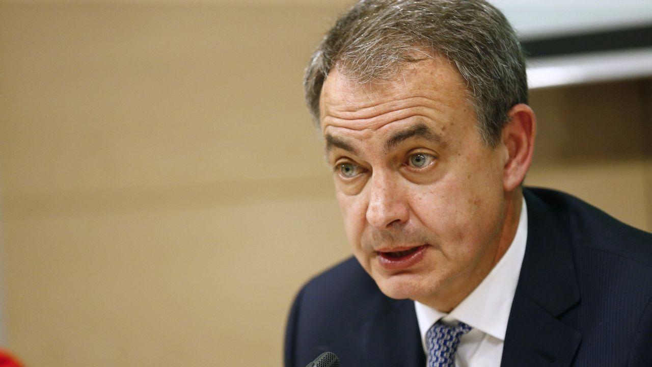 La trayectoria política de Pérez Rubalcaba en imágenes.José Luis Rodriguez Zapatero
