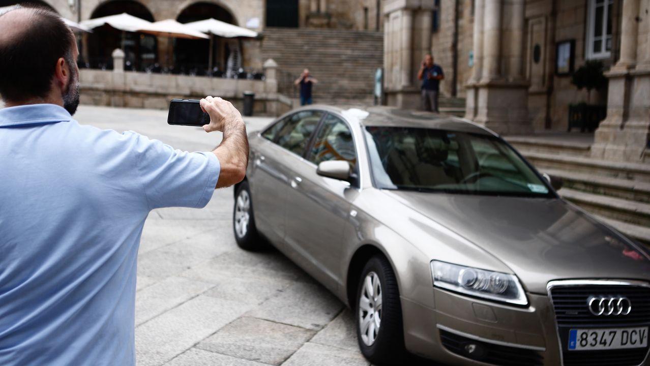 Jácome y el coche oficial que va a subastar