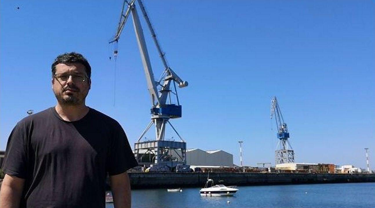 Ramón Fernández, número 5 del BNG por A Coruña. Secretario de Organización de la CIG Ferrolterra