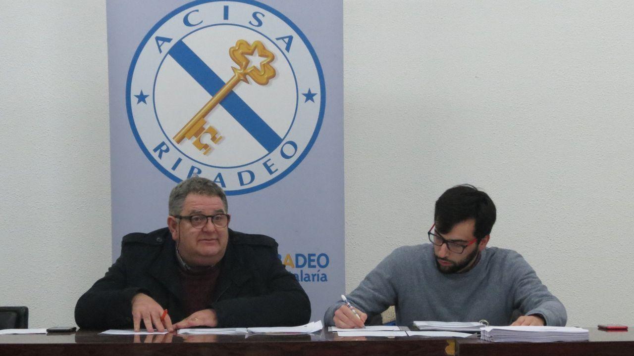 Imagen de archivo de Iriarte y Pérez, presidente y gerente de Acisa-CCA Ribadeo