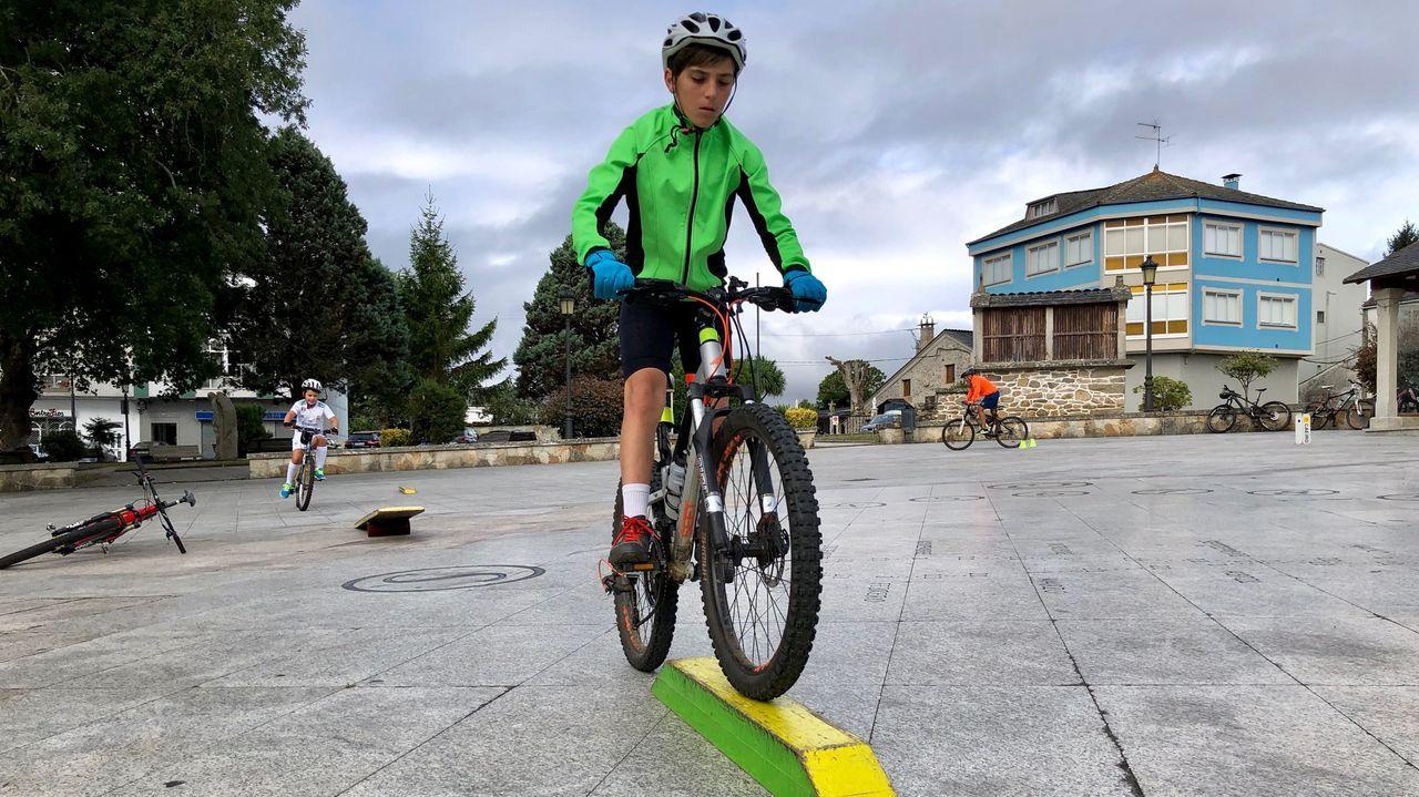 Día de la bicicleta en Guitiriz