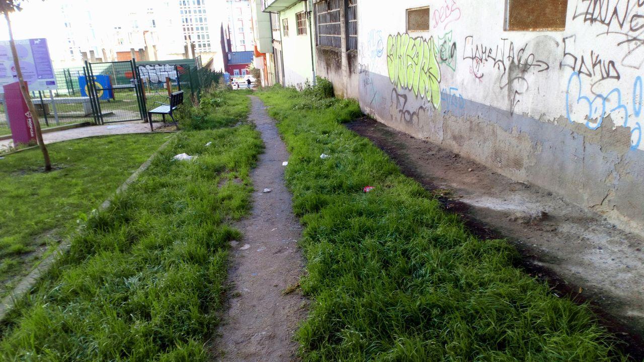 Villar Janeiro na súa casa de Rianxo