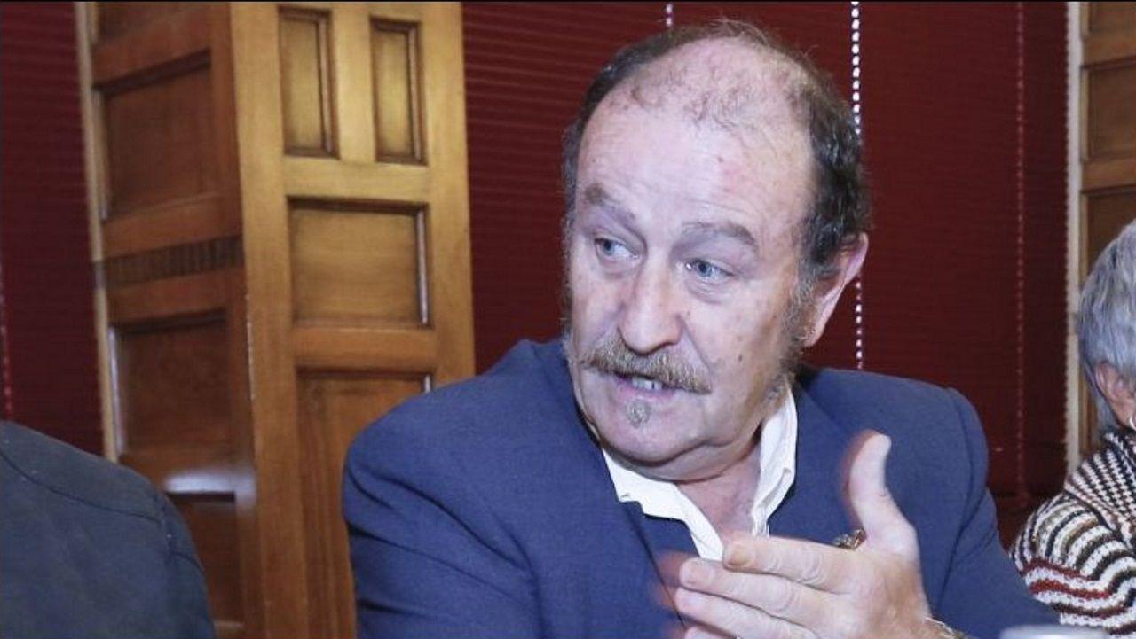Alberto Grandío, presidente da asociación Escobijazz