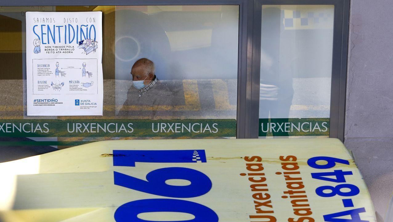 En el área sanitaria hay este lunes 17 hospitalizados por covid entre Pontevedra y O Salnés, de los que cinco están graves en la uci de Montecelo