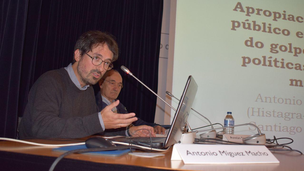 Imagen de archivo de una exposión en la Fundación Barrié