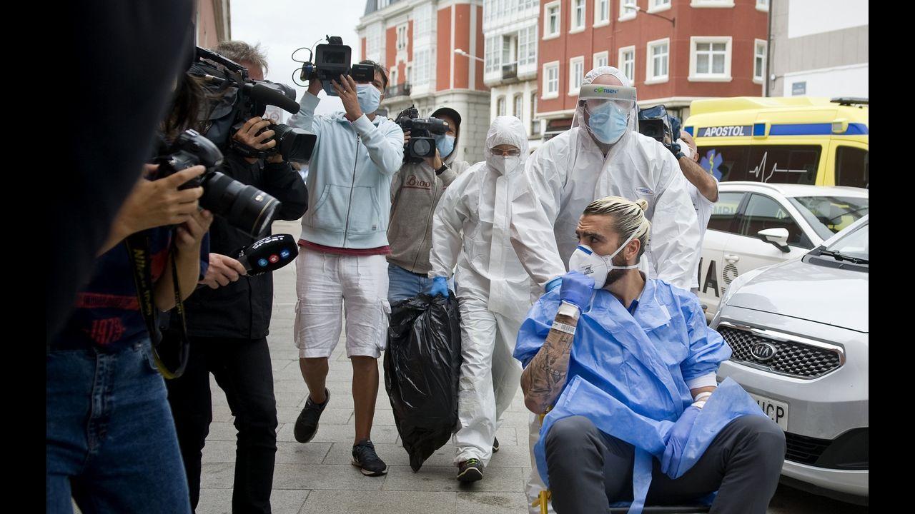 55. Virus en el hotel del equipo