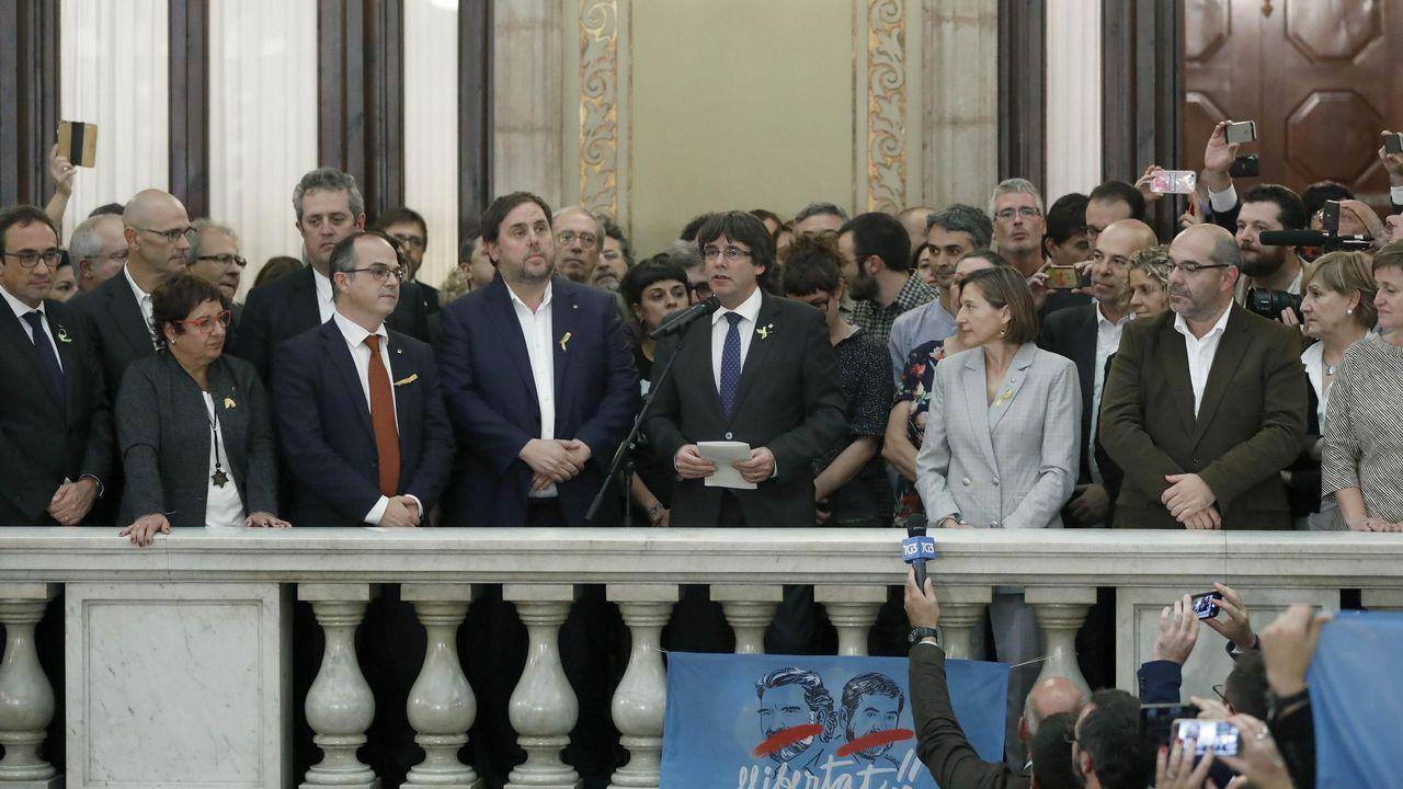 Más que contar: especialdeclaración de independencia en Cataluña