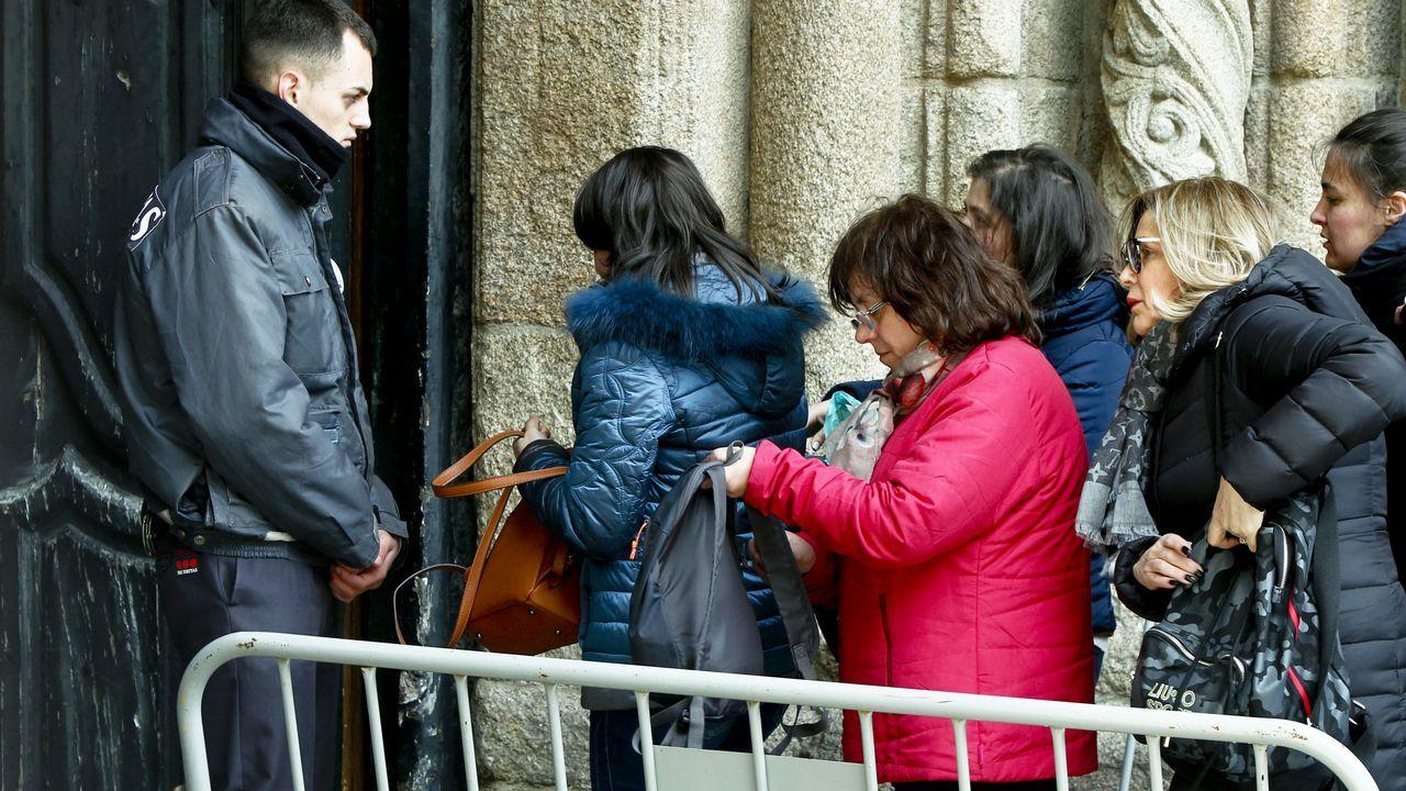 Así se vivió el arranque de las fiestas de la Ascensión en Compostela