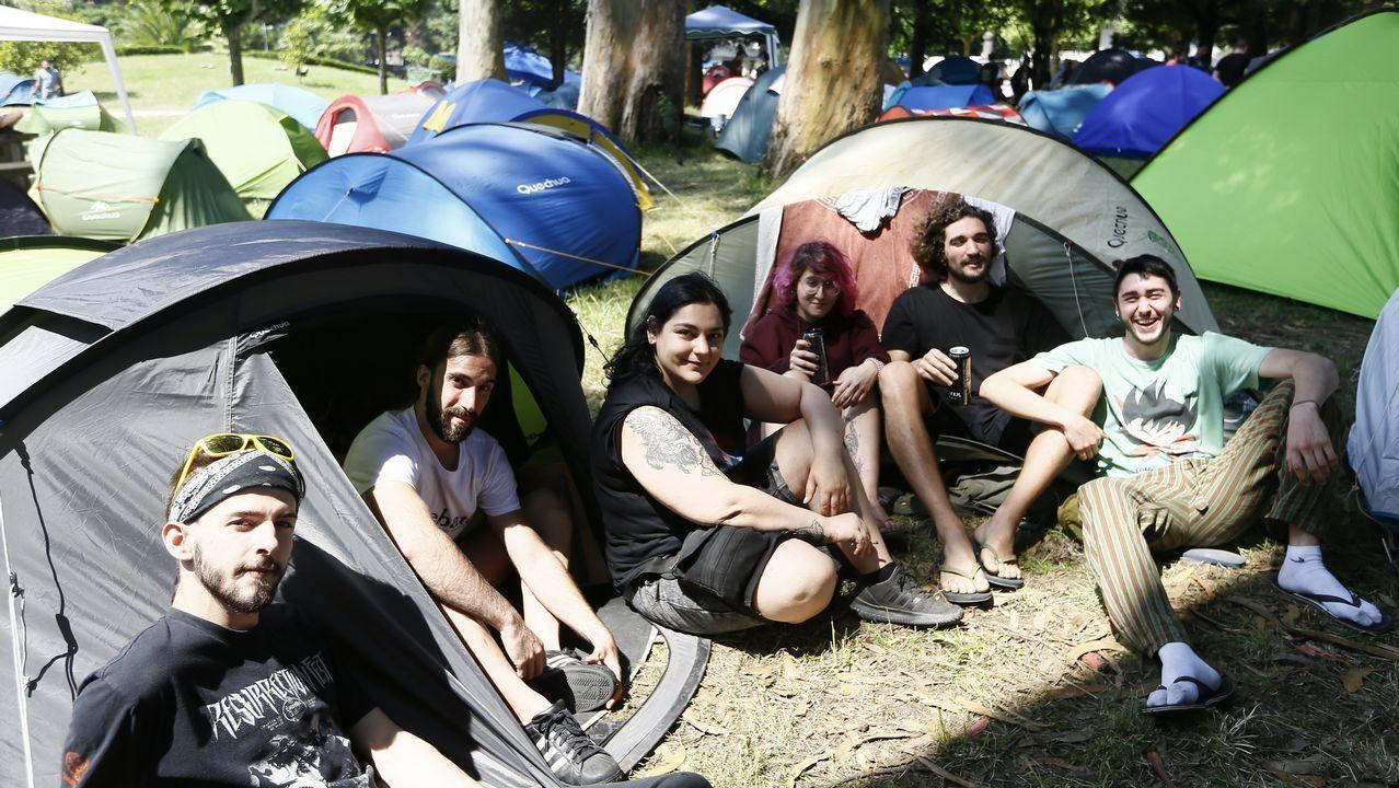 Viveiro ya esResurrección Fest.Kiss en concierto cerca de Lisboa, el 10 de julio