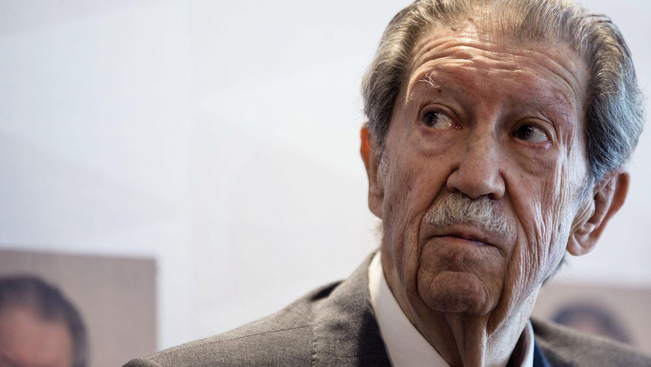 Manuel Alcántara, fotografiado en Málaga en el año 2015