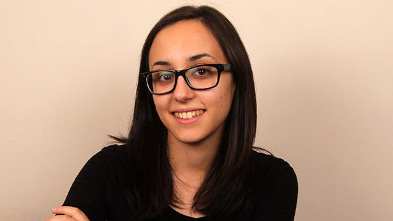 Sara Vila Alonso, gañadora do premio Illa Nova.