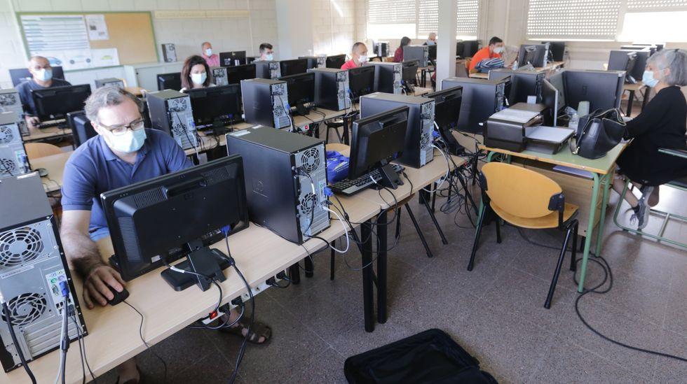 Curso de formación en modelado en 3D para profesores de FP en el CIFP Someso, de A Coruña