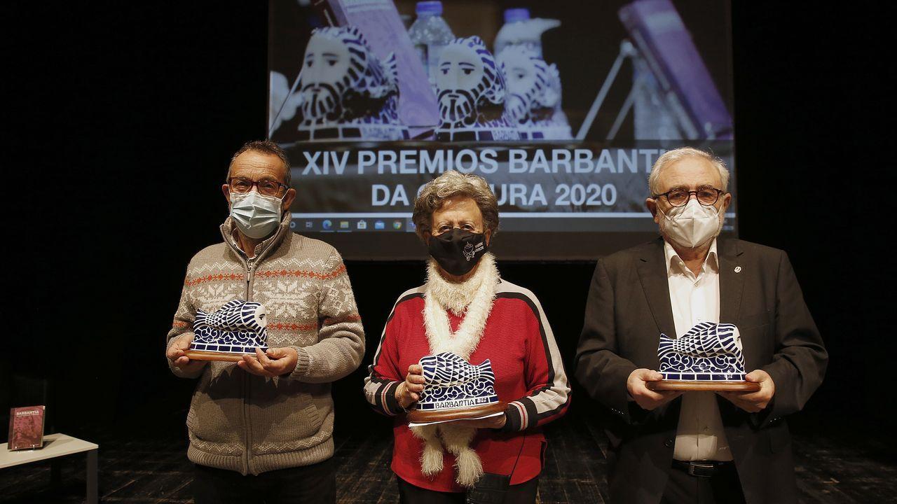 <span lang= gl >¡Mira todas as fotos da gala de entrega dos Sereos de Barbantia!</span>.Pablo Garcia