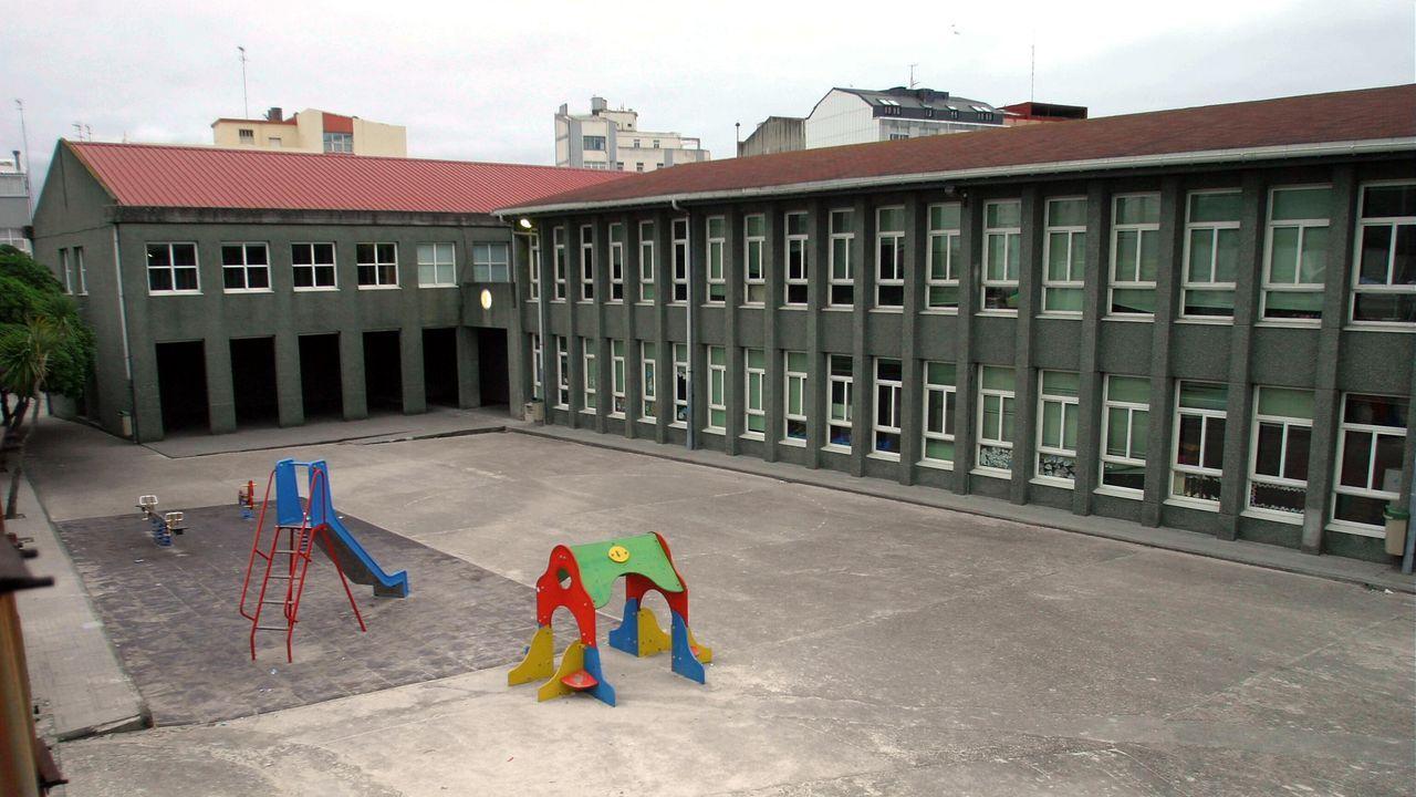Concierto San Mateo.Imagen de archivo del colegio Sanjurjo de Carricarte